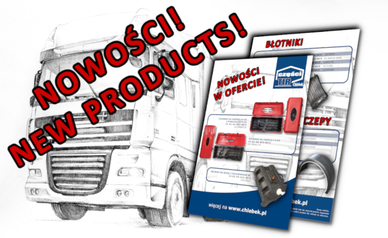 NEW PRODUCTS IN OUR OFFER!